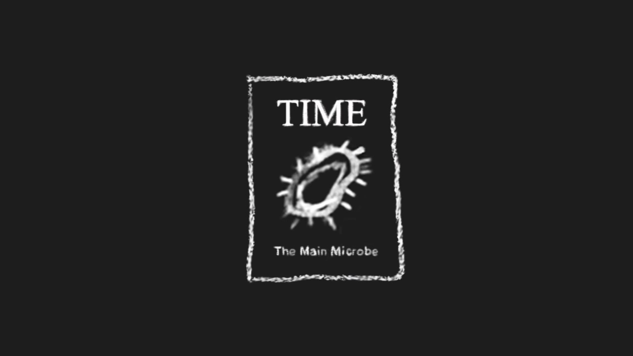 This microbe made the cover of Times... but was it happy?