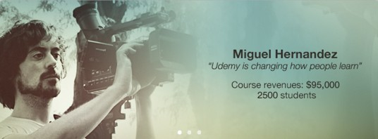 Udemy had me on their home page for a while