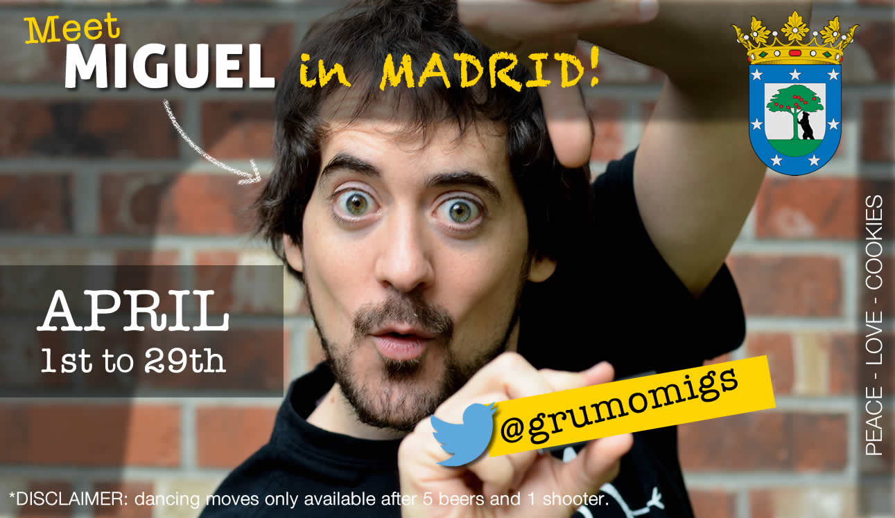 This thing is coming to Madrid - are you ready?