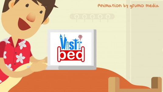 VisitBed explainer demo video by Grumo Media