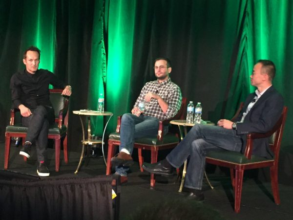 Fireside chat with Grégory Boutté, VO of Content, Eren Bali, co-founder of Udemy and Dennis Yang, CEO of Udemy.