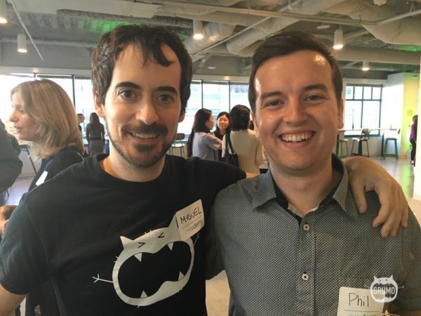 Meeting Phil Ebiner who got inspired my by early success to join Udemy and now boasts more than 140K students of his own!