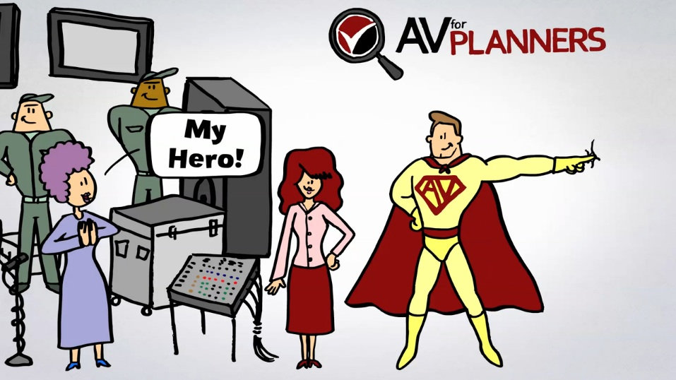 AVforPlanners: get your own event planning super hero!