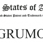 Header of the US Trademark certificate for GRUMO