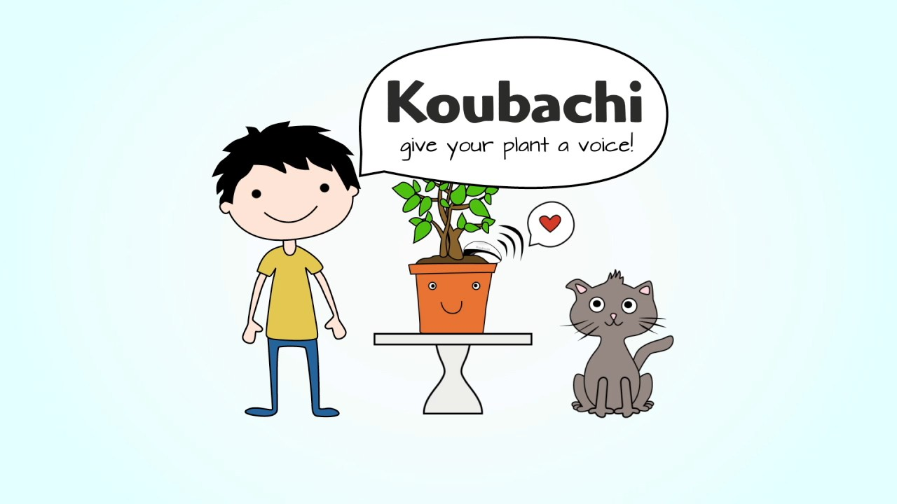 Koubachi - Give your plants a voice and they will sing better than Susan Boyle