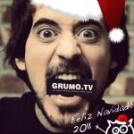 Miguel and Grumo Say: Feliz Navidad Amigos!