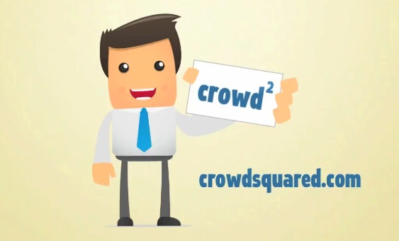 Screen shot from CrowsSquared demo video: Cute characters!