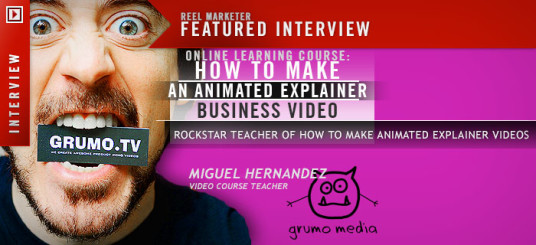 According to ReelMarketer Miguel is a rockstar teacher. Well, thank you!