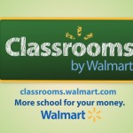 Walmart Classrooms: schools supplies for everyone, anytime, anywhere!